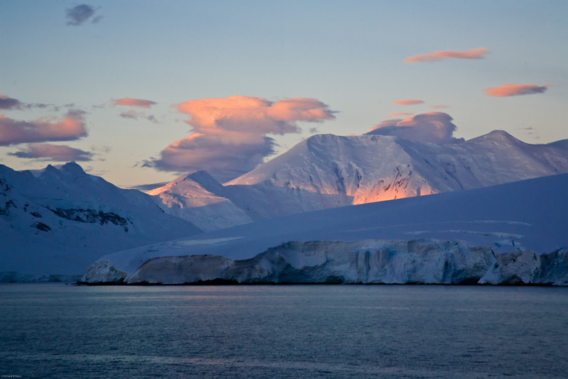 Sunset, Antarctic Peninsula