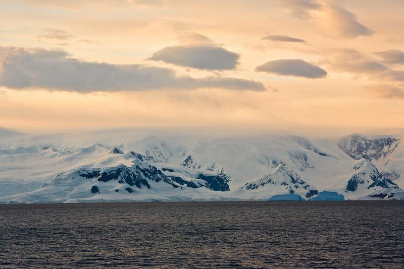 Dawn, Antarctic Peninsula