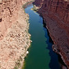 Over the Colorado River at Marble Canyon