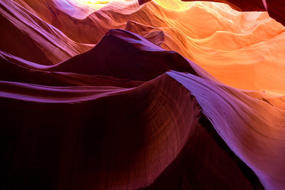 Lower Antelope Canyon.