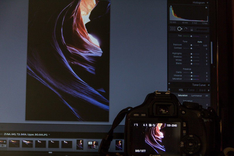 By Adobe's own admission, RAW images in Lightroom 4 tend to be color muted. The original memory cards were used to show what the camera captured, then those colors and tones were accurately duplicated in Lightroom and saved as JPEGs.