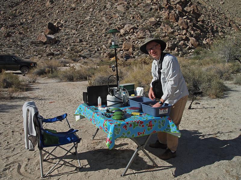 Sheep Canyon campsite