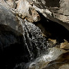 Waterfall in a grotto, Cougar Canyon