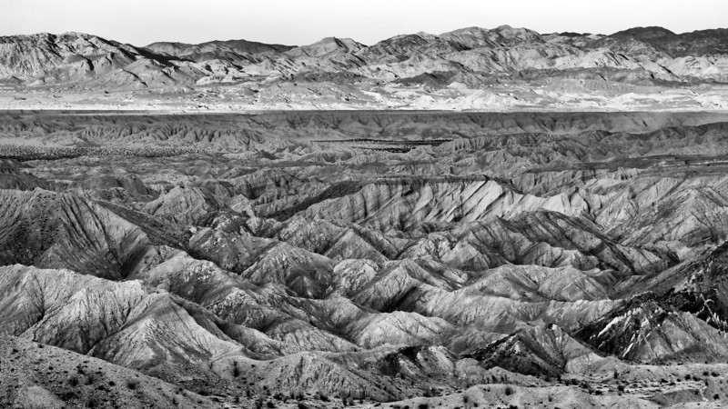 Carrizo Badlands.