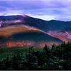 Franconia Ridge from Cannon Mountain.