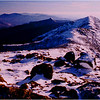Franconia Ridge: Mt. Lincoln seen from Mt. Lafayette.