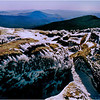 View from summit of Mt. Moosilauke.