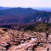 Descent from Mt. Lafayette.