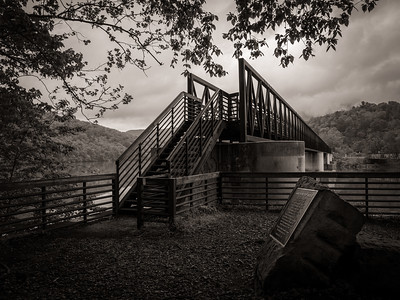 Foot Bridge on the Appalachian Trail
