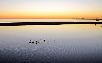 Aptos Beach Sunset