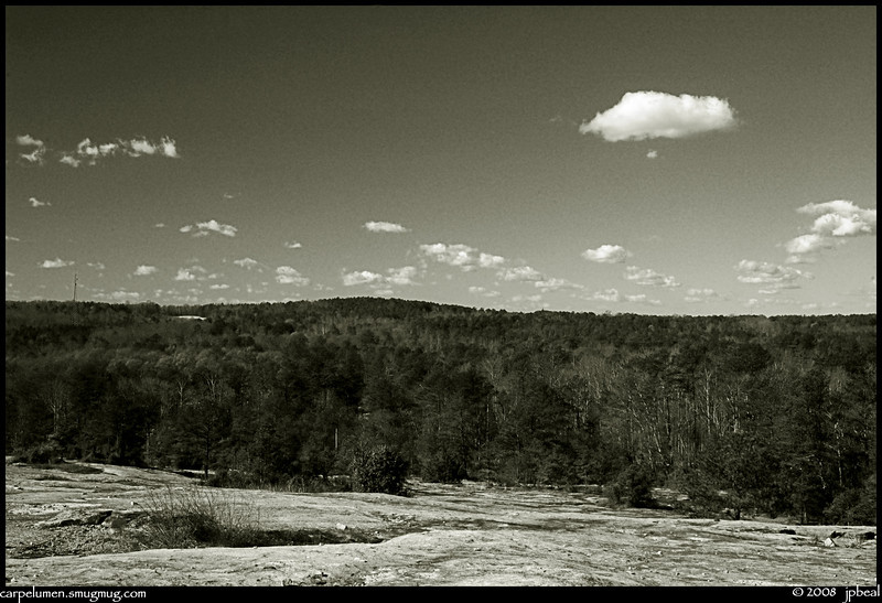 Arabia mountain, DeKalb County, Georgia
