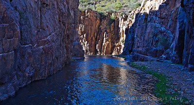 """Stone and Light"", Aravaipa Canyon Wilderness, Arizona"