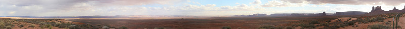 Big Panoramic of Monument Valley