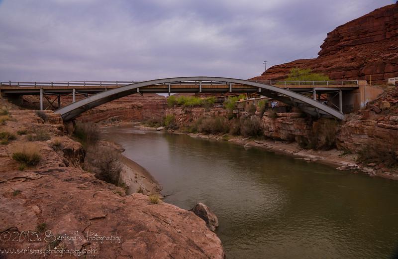 San Juan River Bridge, Mexican Hat City