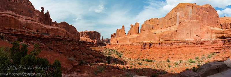 My first attempt of Panorama - Park Avenue in Arches