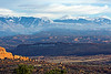 Arches and La Sal Mountains