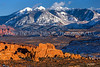 199  La Sal Mountains Telephoto Landscape