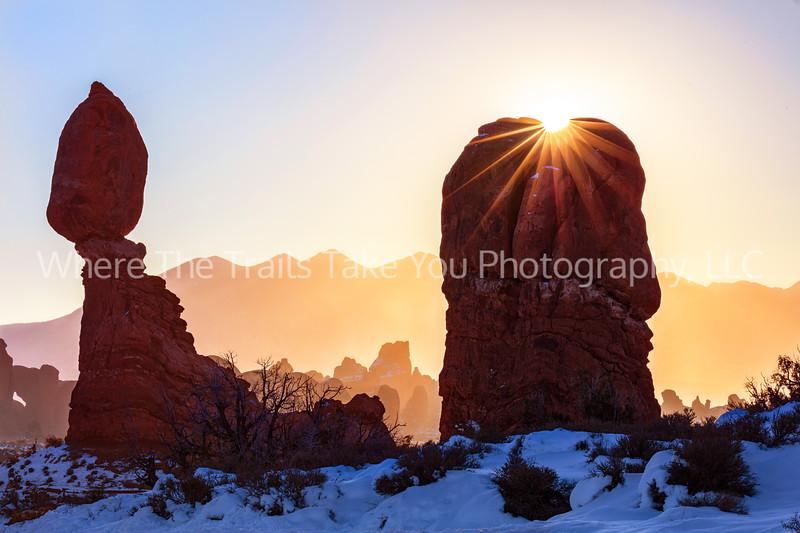 56.  Sunrise Over Balanced Rock