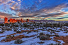 63.  New Year's Sunset Over Balanced Rock