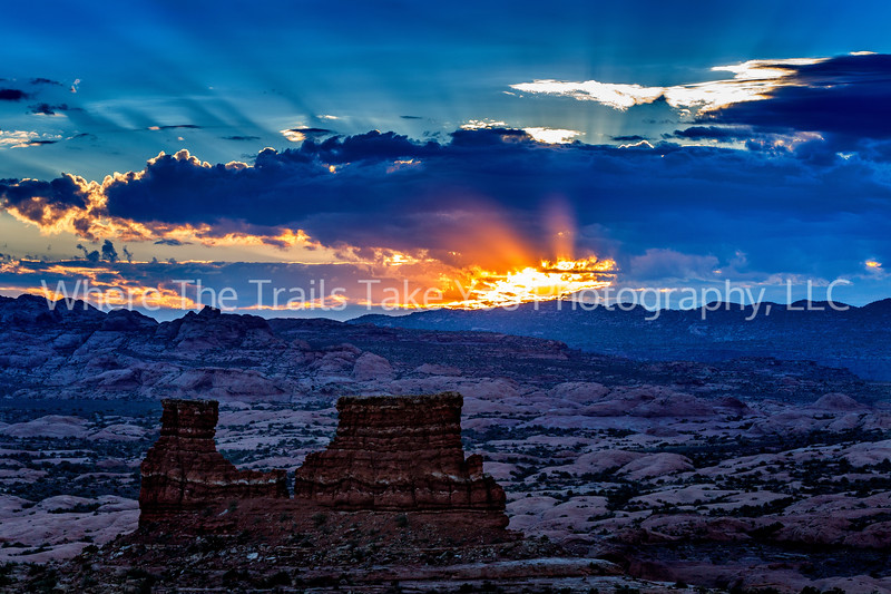 72.  A La Sal Mountains Sunrise