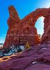 36.  Sunlight Through Turret Arch