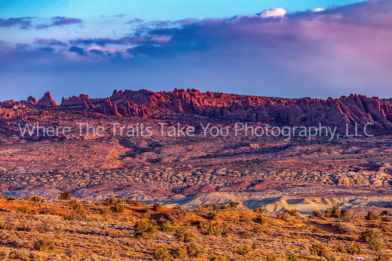 19.  Sunrise Over Salt Valley