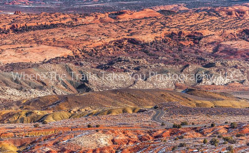 17.  Looking Down Into Salt Valley