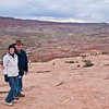 On the way back to the parking lot from Delicate Arch.
