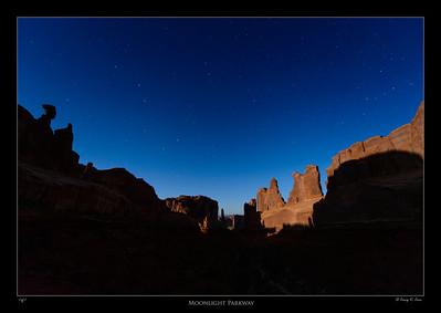 Park Avenue - Arches National Park