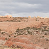 The three mile hike round trip to Delicate Arch goes up this slickrock.