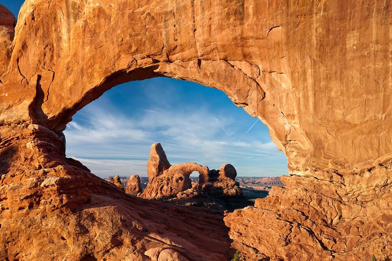 Turret Arch through North Window Arch