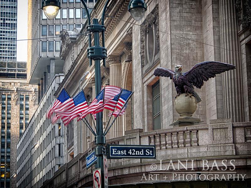 Corner of Grand Central Station