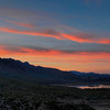 Horseshoe Lake Sunset Panorama