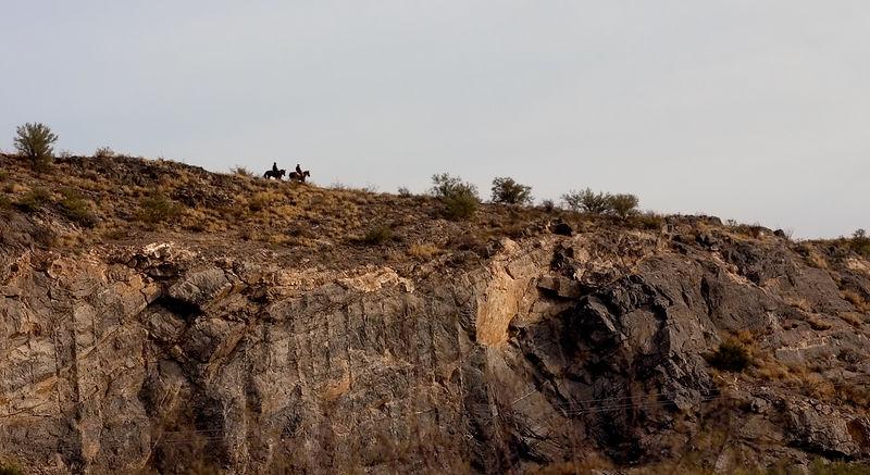 Riders in the distance Arizona
