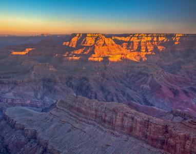 Lipan Point, Grand Canyon NP, AZ.