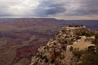 Moran Point, Grand Canyon NP, AZ.