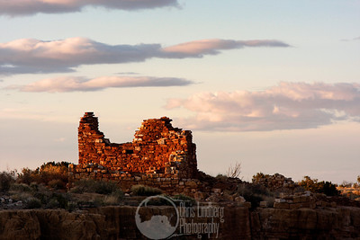 Box Canyon Ruins at Wupatki National Monument.