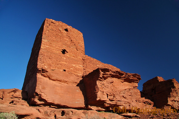 Wukoki Pueblo in Wupatki National Monument.