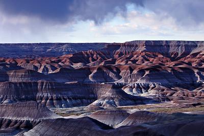 Painted Desert Virga