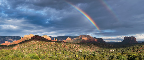 Arching over the Red Rocks