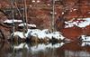 Snow on The Bank of Oak Creek