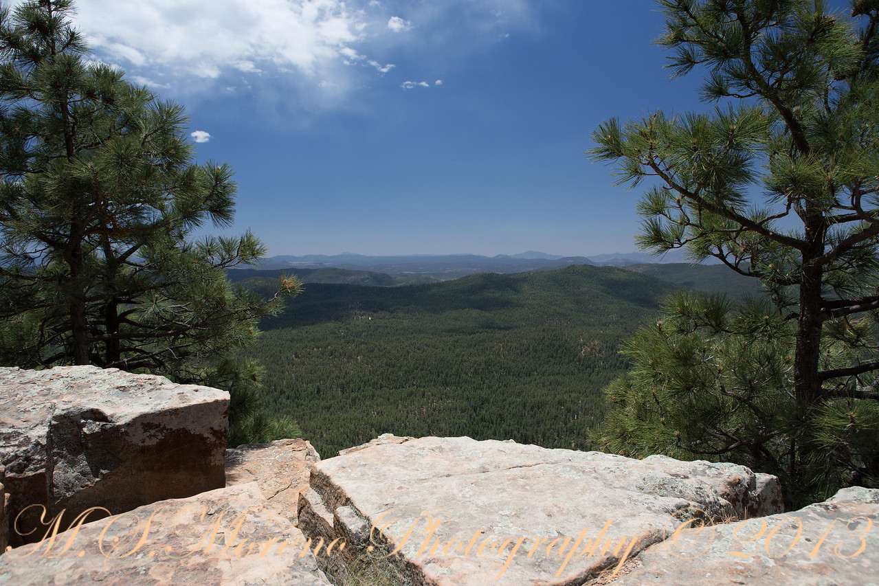 Cliffside View - Canyon Point Campgroung - Arizona