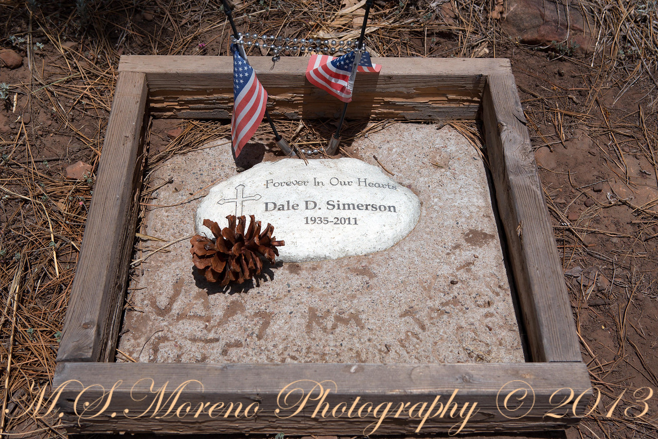 Memorial in the Arizona Wilderness