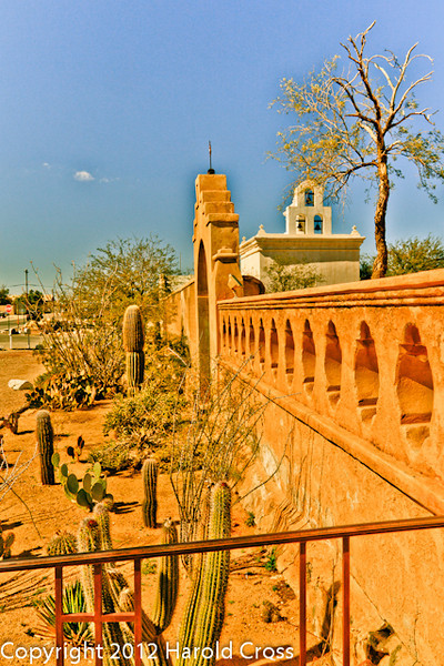 A landscape taken Feb. 13, 2012 near Tucson, AZ.