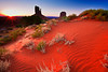 Arizona,  Monument Valley, Sunrise, Dune Landscape 亚利桑那 碑山谷 沙漠 风景