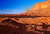 Arizona,  Monument Valley Landscape 亚利桑那 碑山谷 沙漠 风景