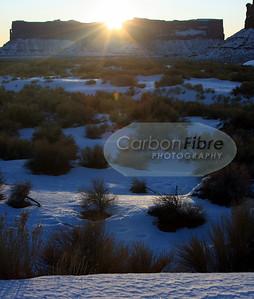 Sunburst, Meridian Butte, Monument Valley