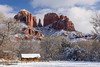 Cathedral Rock White Blanket
