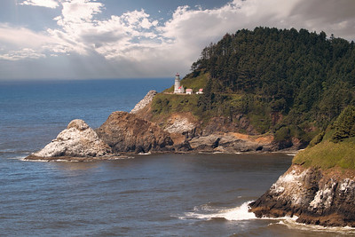 1DX21499Heceta Lighthouse Oregon