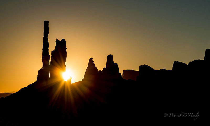 Totem Pole Sunrise